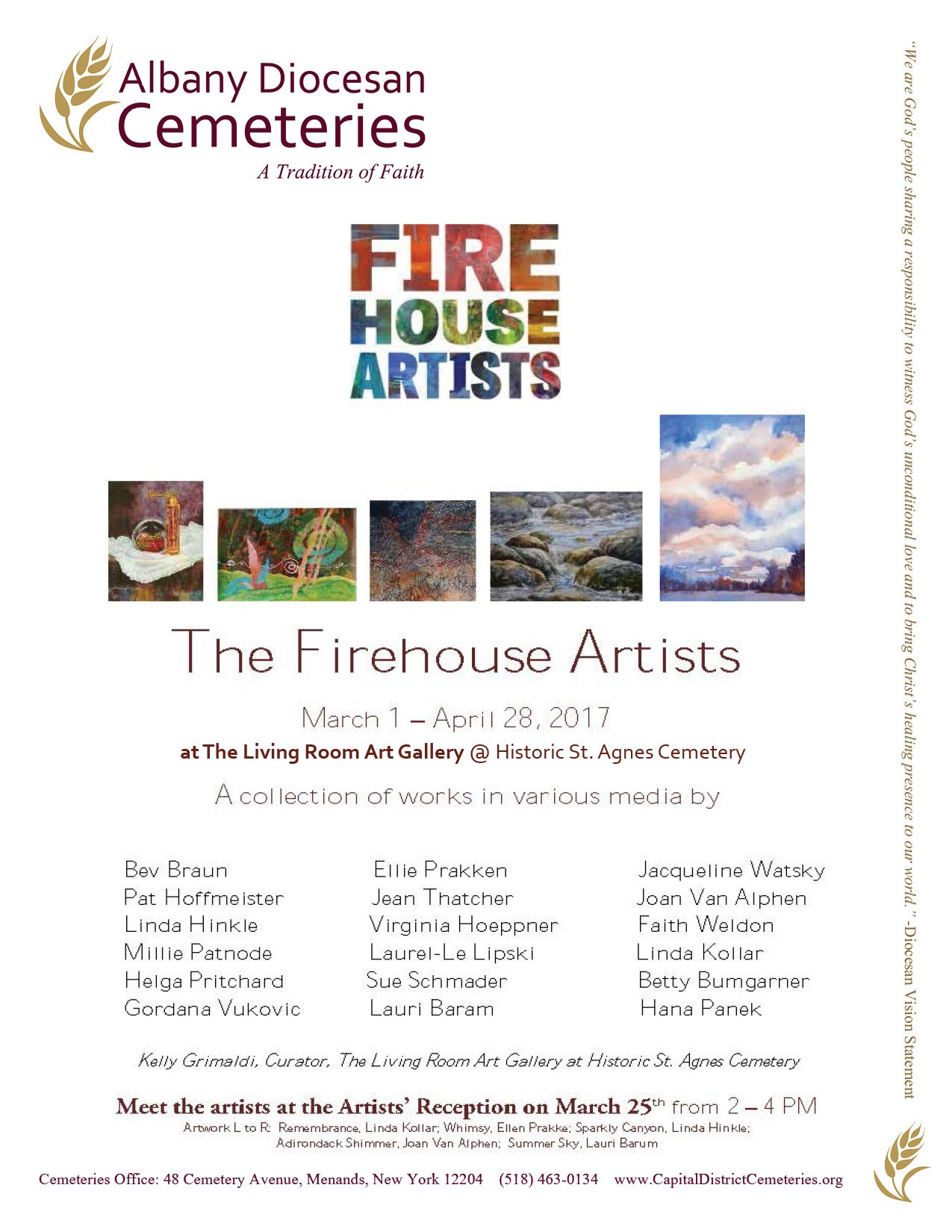 2017 FireHouse Exhibit flyer