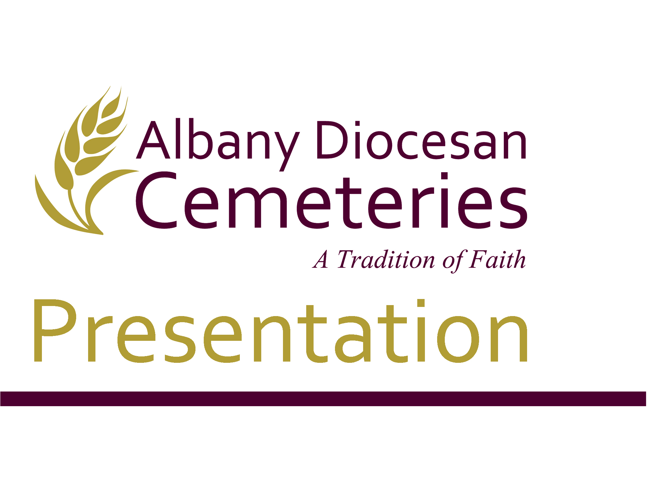 Albany Diocesan Cemeteries Presentation