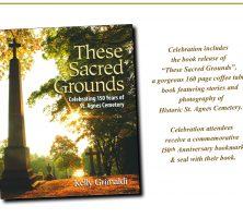 150th Anniversary Historic St. Agnes Cemetery Invitation book information
