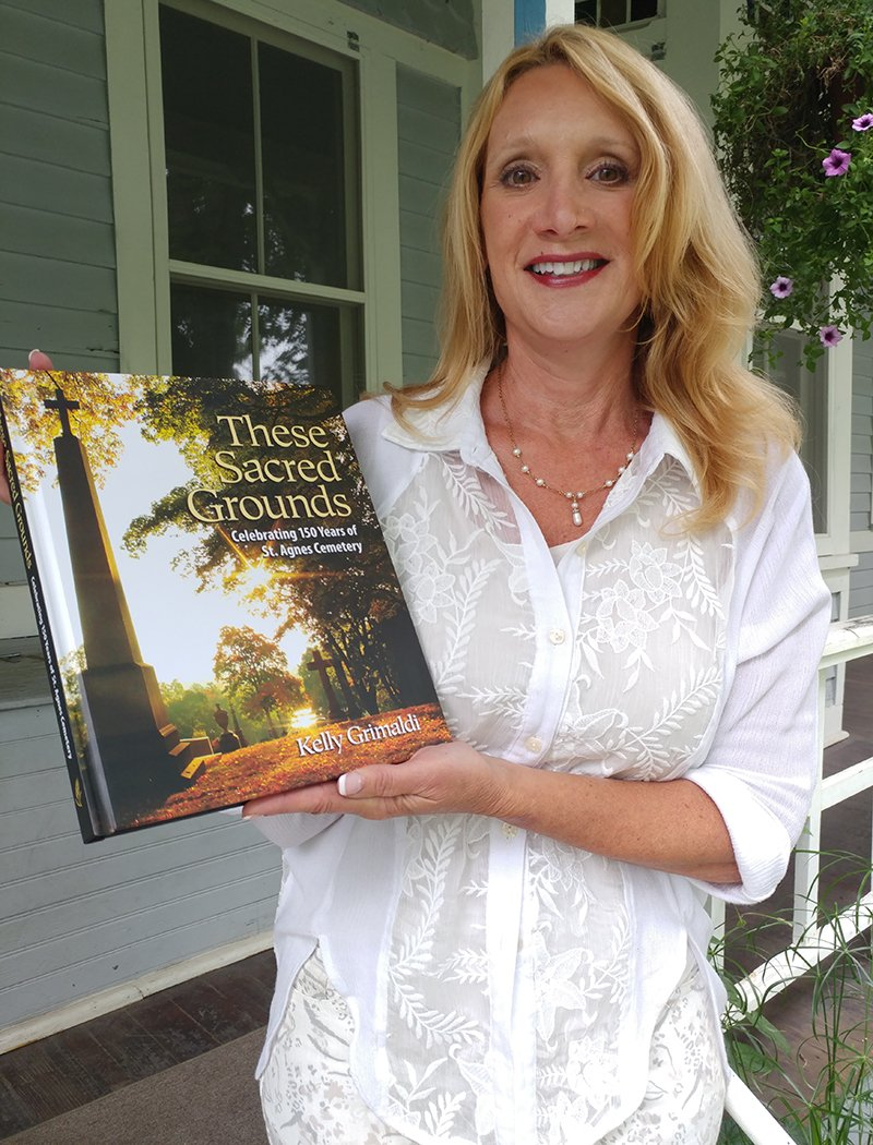 These Sacred Grounds book Celebrating Historic St. Agnes 150th Anniversary Book