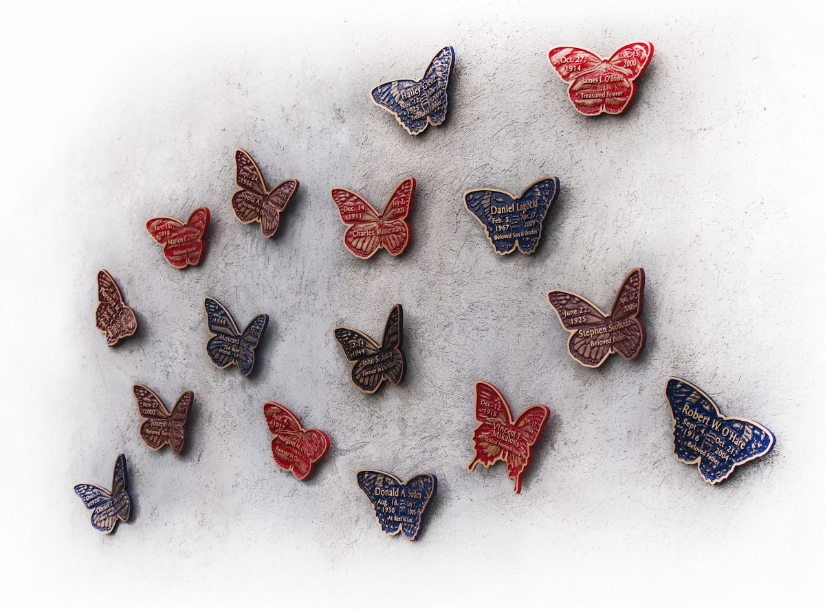 Memorial Butterflies