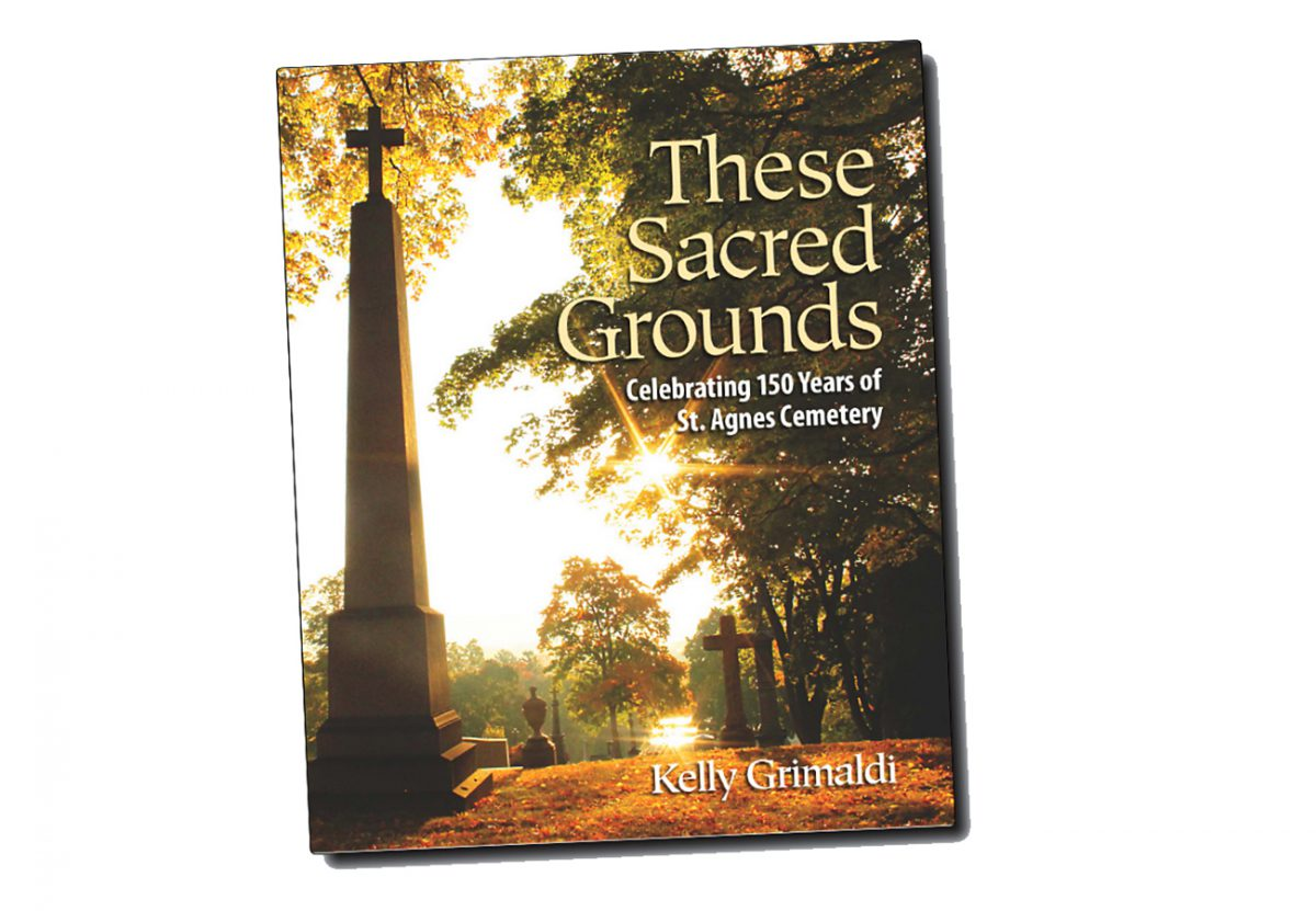 These Sacred Grounds St. Agnes Cemetery coffee table book