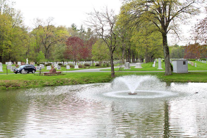 Remembrance Garden Prayer Service