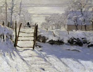 "Monet's ""Magpie"""