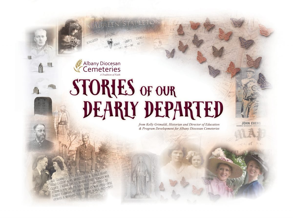 Stories of our Dearly Departed graphic