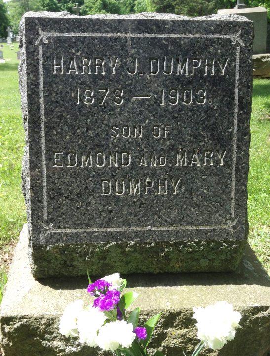 Harry Henry Dunphy gravestone