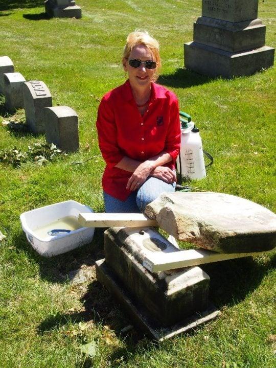 Kelly Gravestone Restoration