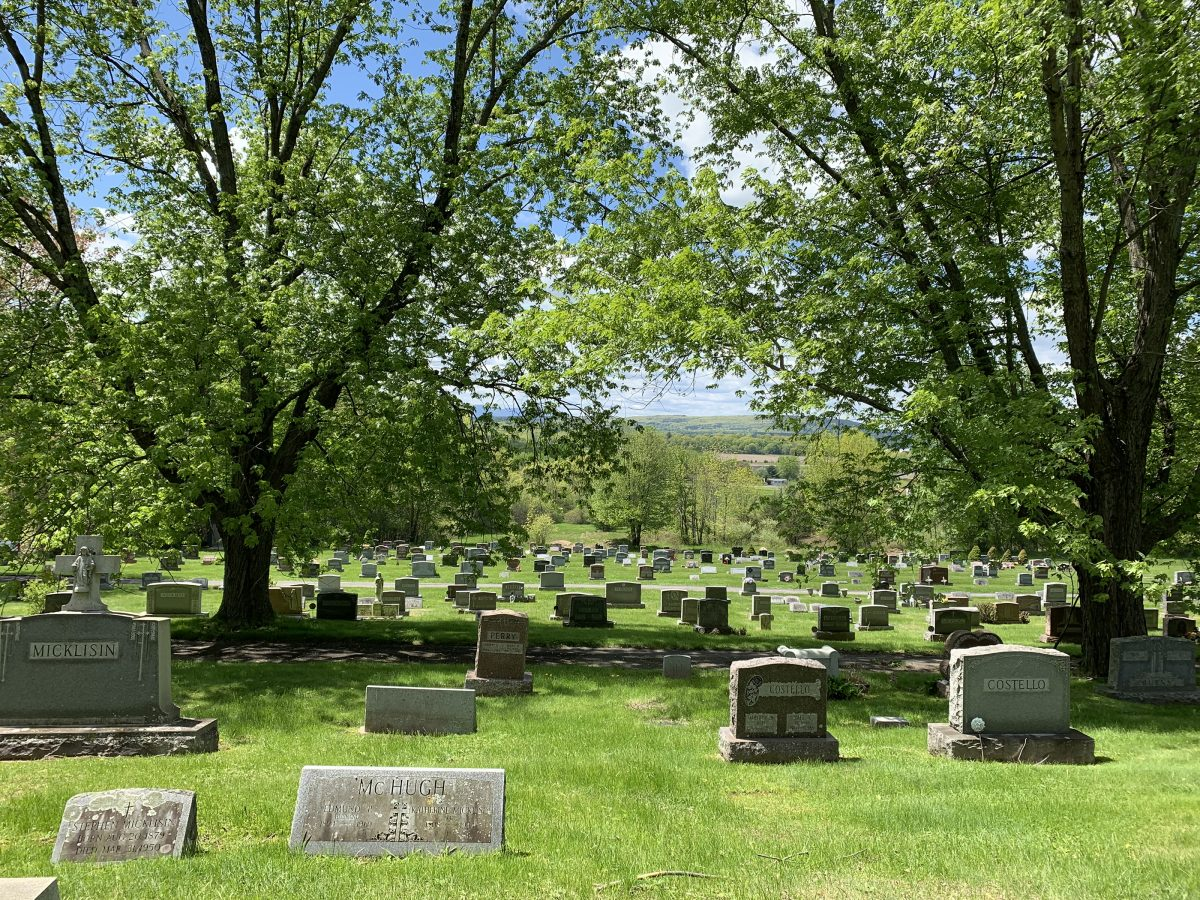 St. Mary's Cemetery Coxsackie, NY.