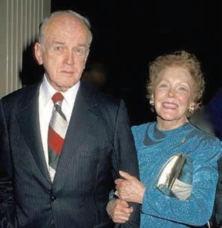 Maureen O'Sullivan and James Cushing