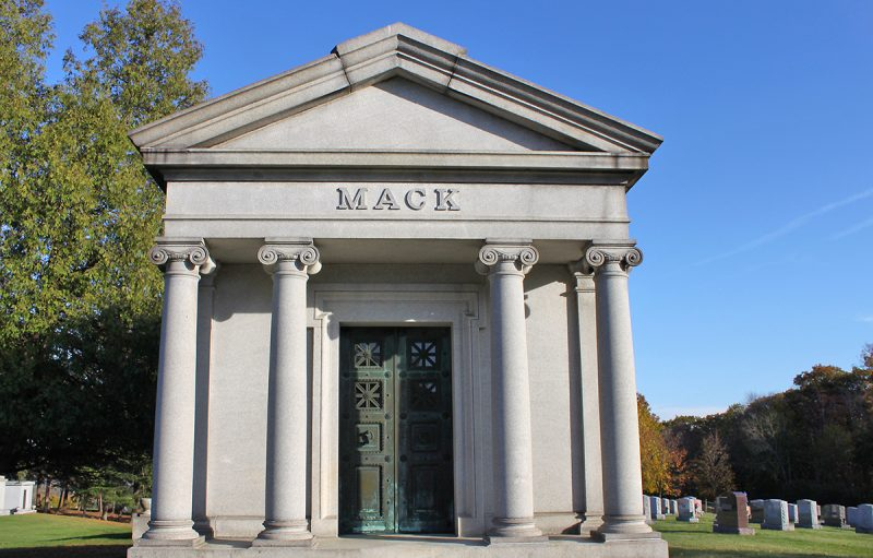 The Mack Mausoleum, St. Agnes Cemetery, Menands, NY