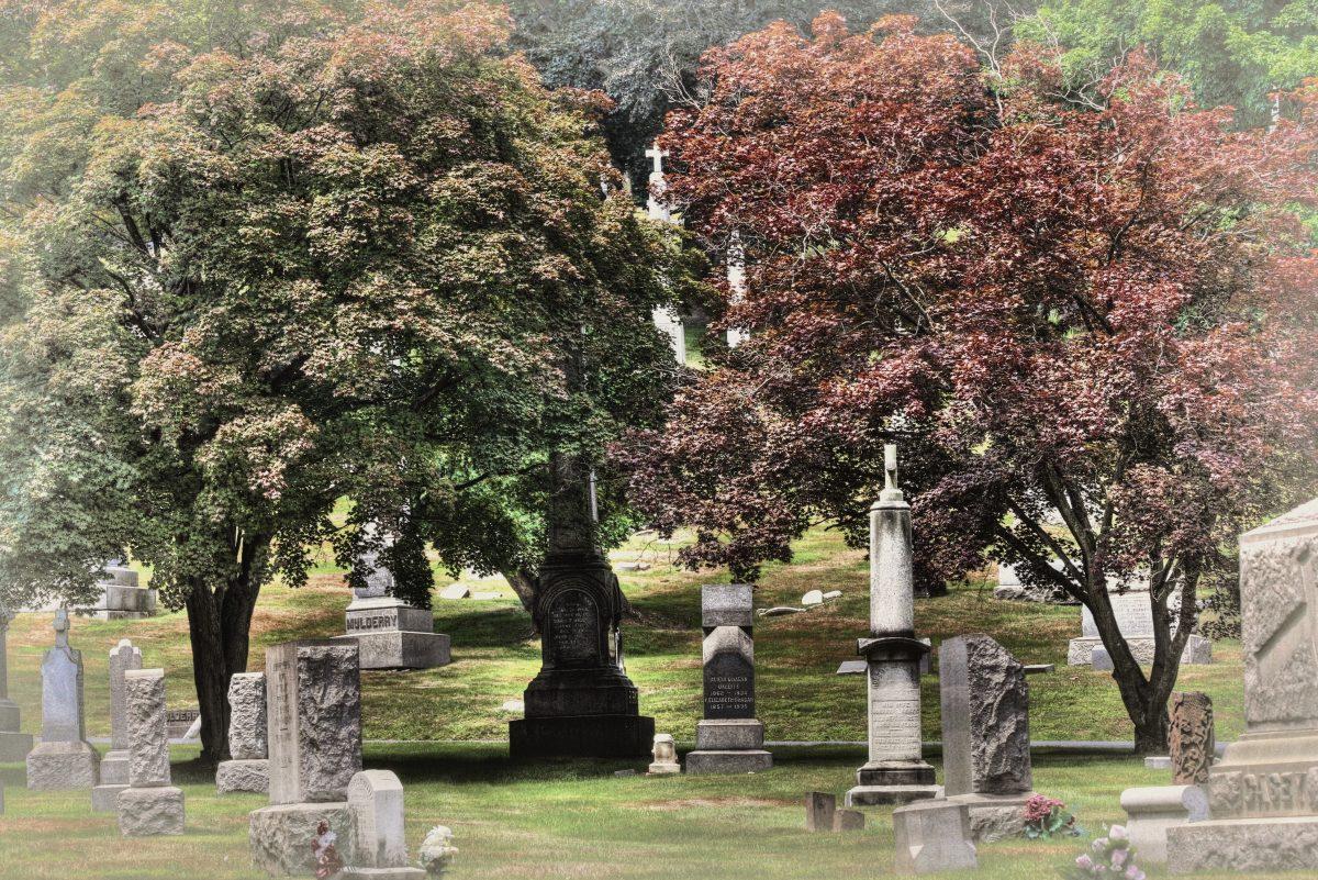 Photo: Linda Heim, St. Agnes Cemetery, 2010