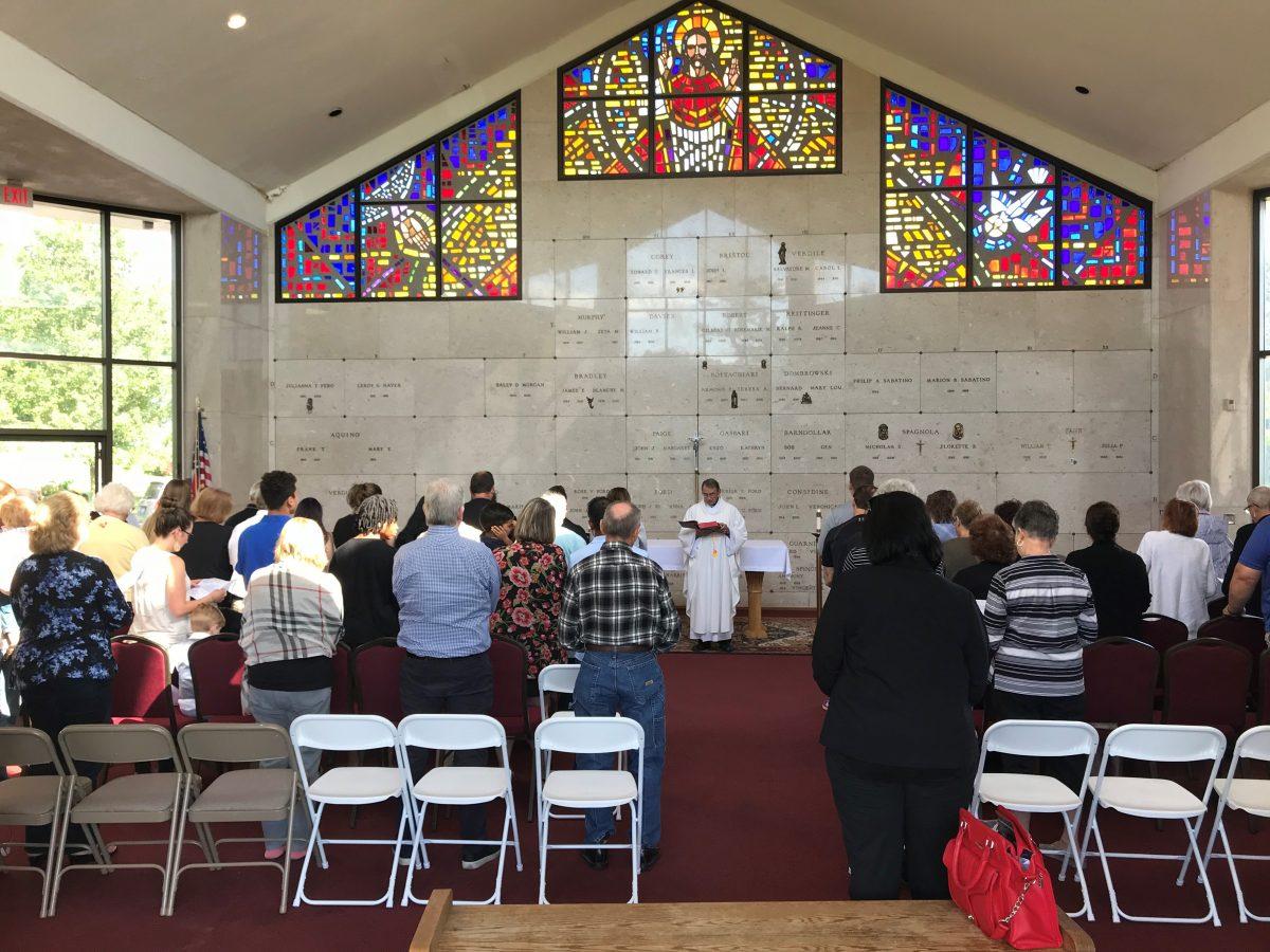 Image of a Memorial Mass