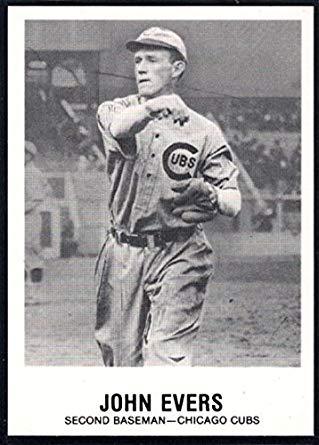 Johnny Evers Baseball