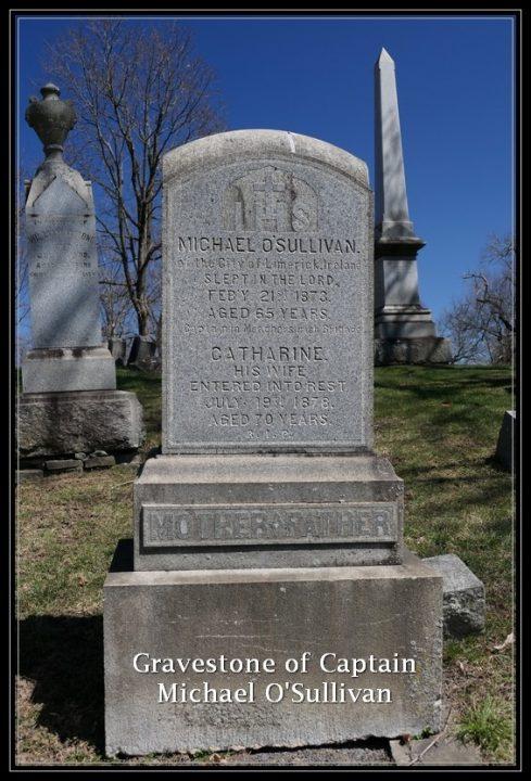 Captain Michael O'Sullivan's gravestone