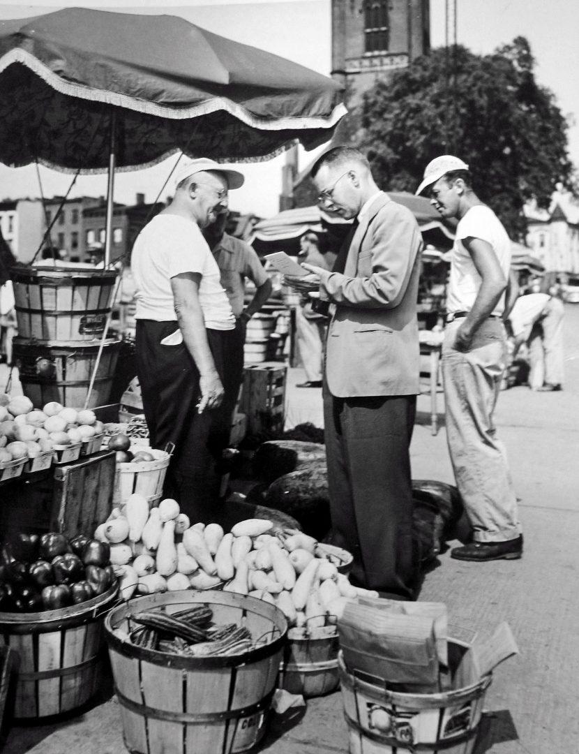 Albany market c. 1950